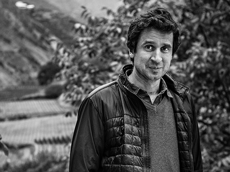 To respect tradition, Ao Yun estate manager Maxence Dulou ensures all harvesting and winemaking is done entirely by hand. Photograph: Juan Hitters.