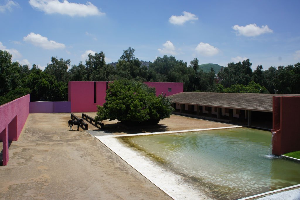 A triumph of Cubist architecture by Pritzker Prize–winning architect Luis Barragán, Cuadra San Cristobal Is a sanctuary for its equine and human residents.