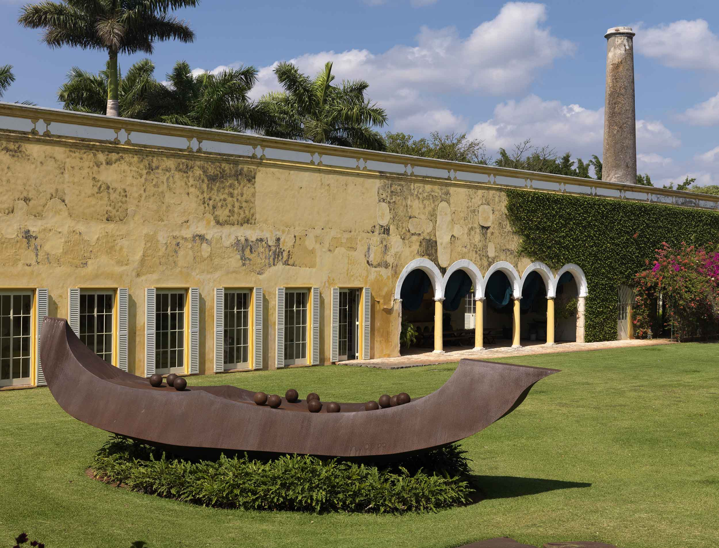 Hacienda San Bernardo, a 19th-century on the Yucatan Peninsula, is rooted in Mexican history.