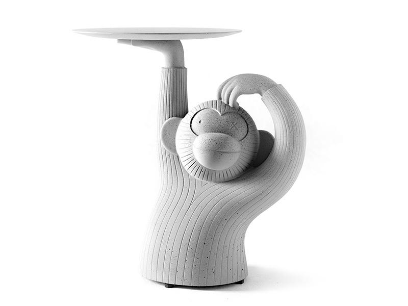 Monkey side table, for BD Barcelona Design. Photograph: Hayon Studio