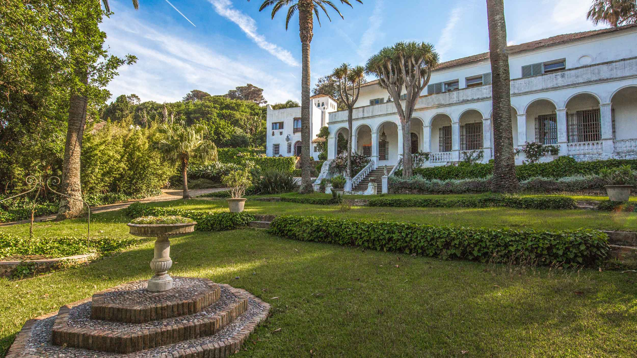 This enchanting colonial palace in Tangier was the place of inspiration for Chilean hyperrealist painter Claudio Bravo.