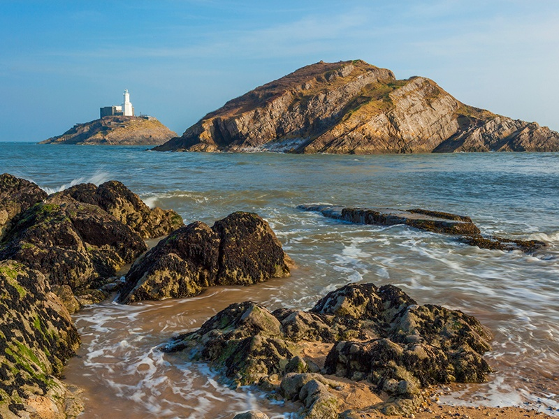 Design Unlimited's Mark Tucker grew up Mumbles, a small village at the entrance to the picturesque Gower Peninsula in South Wales. Photograph: Getty Images