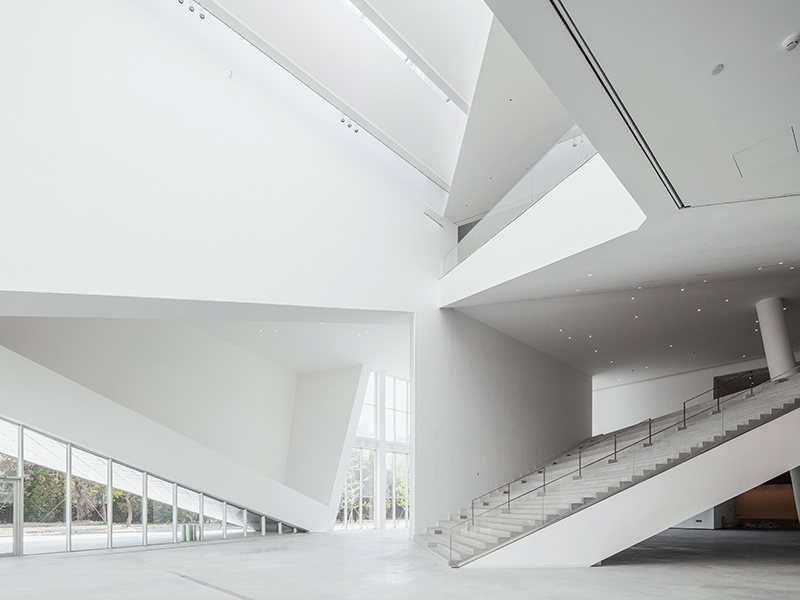 Beijing's Minsheng Contemporary Art Museum is defined by dynamic spaces. Photograph: Studio Pei-Zhu