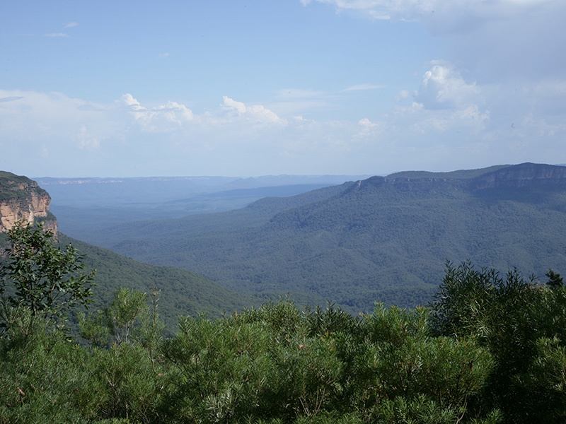 The Greater Blue Mountains World Heritage Area in New South Wales is one of Australia's most spectacular natural parks.