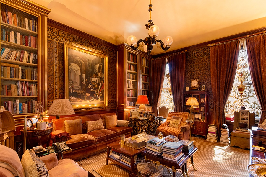 This seven-bedroom duplex overlooking Central Park is the largest original apartment on Fifth Avenue.