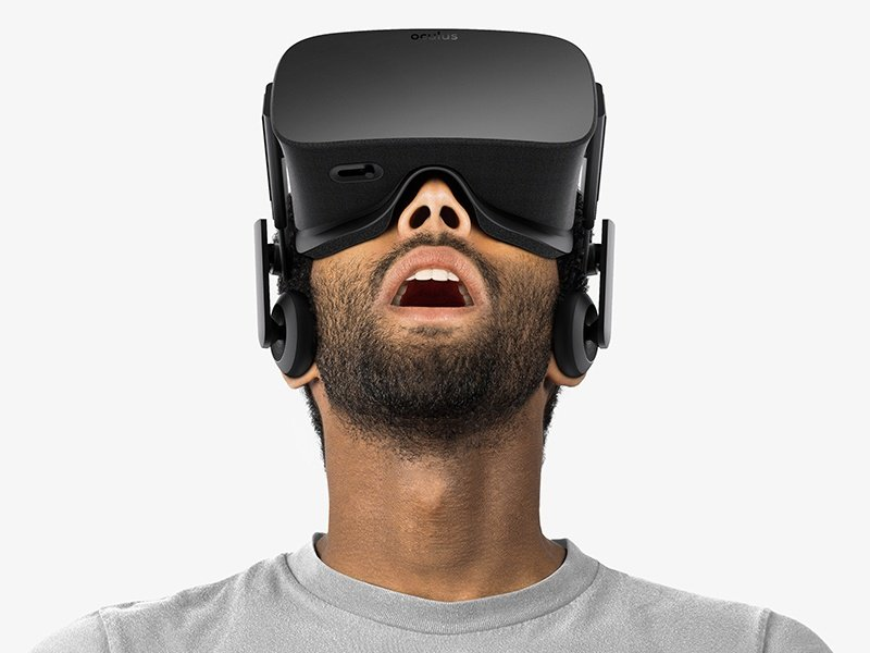 VR headsets, such as Oculus Rift, take you into another dimension. 3D virtual worlds are realised through CGI, with the visuals and audio responsive to your head movements, for an entirely immersive experience.