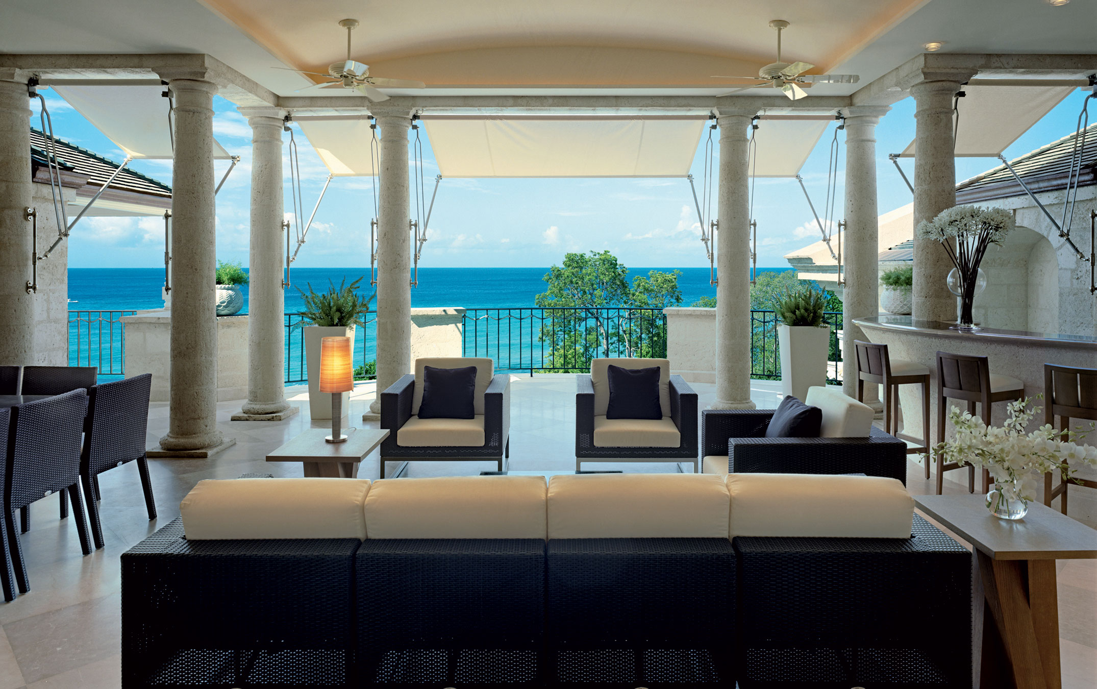 One Sandy Lane was built to emulate the beauty of the Sandy Lane Hotel, the legendary resort on the Platinum Coast of Barbados.