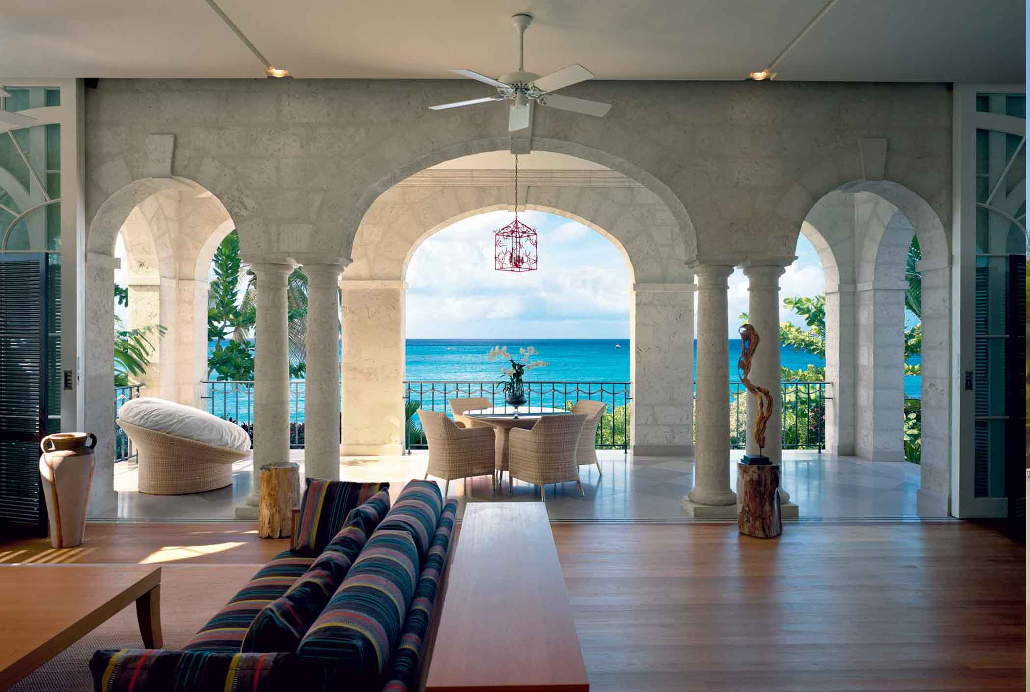 Overlooking the Caribbean Sea and Barbados' Platinum Coast, One Sandy Lane is an enclave of ultimately private, refined, and secure residences exuding an ambiance of an unsurpassed opulence.