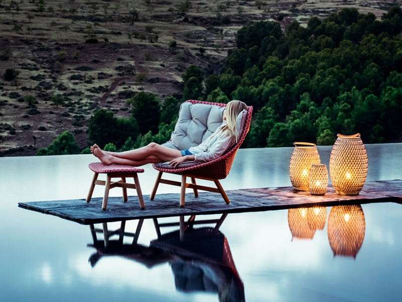 The MBRACE outdoor chair collection by Sebastian Herkner for Dedon encapsulates the spirit of barefoot luxury. Banner image: Made from cast iron and timber, the sculptural Morsø Grill Forno is a stylish, multifunctional addition to your garden.