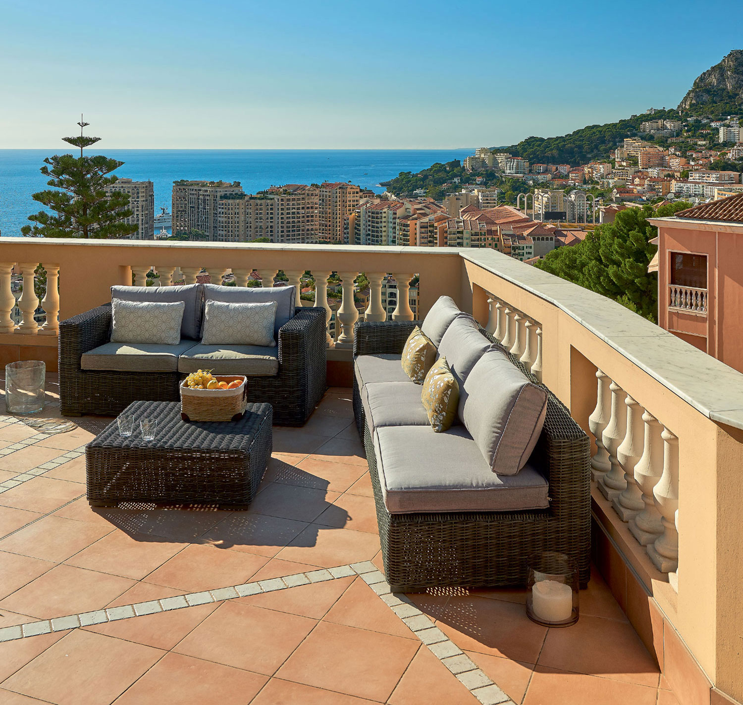 On the roof is the perfect terrace, ideal for alfresco dining and entertaining.