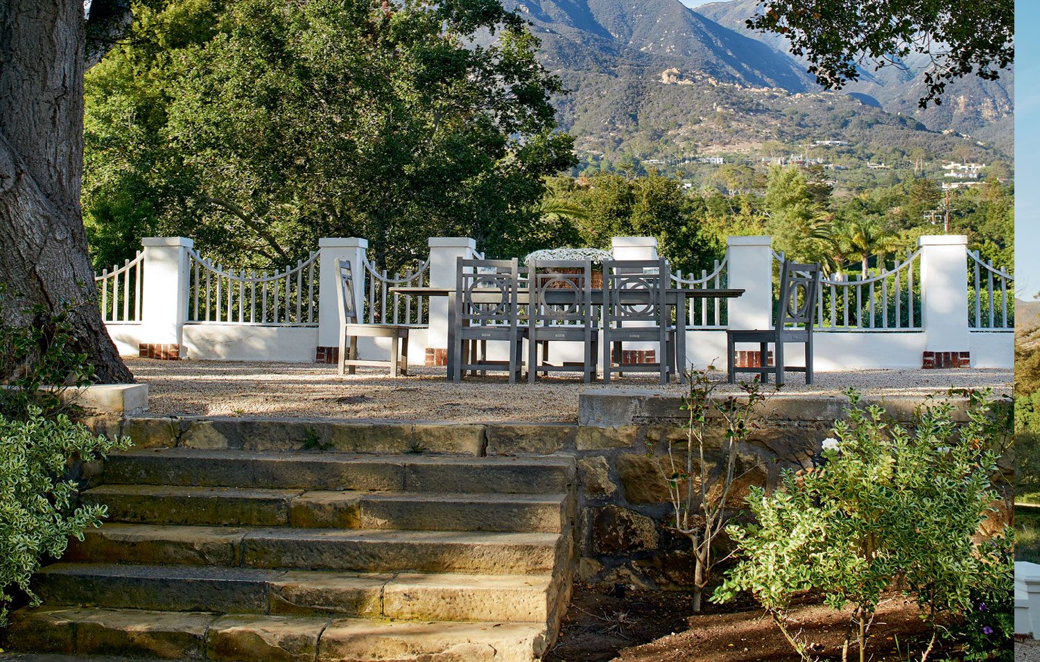 """A truly five-star property demands a five-star locale, and Montecito delivers. """"It is a regal neighborhood,"""" says Ladd Jackson, """"a seaside town with the most perfect climate."""""""