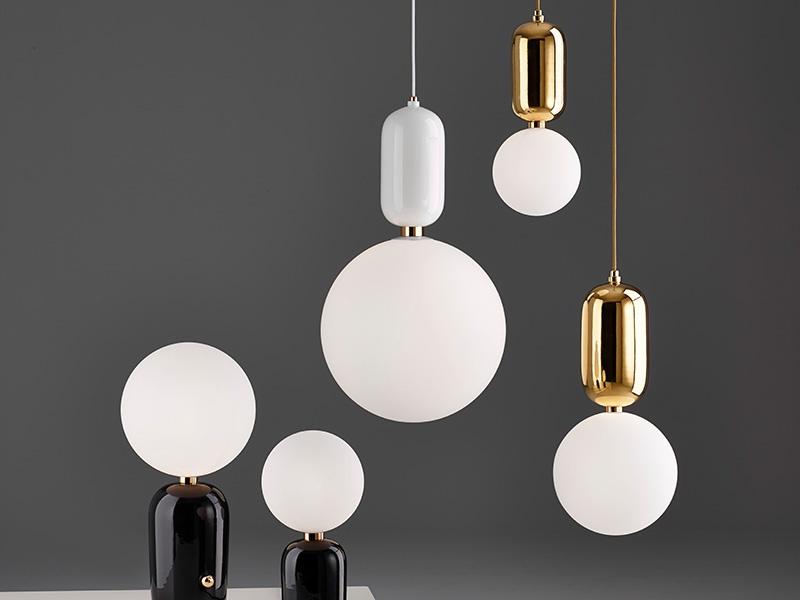 Aballs lamps for Parachilna. Photograph: Hayon Studio
