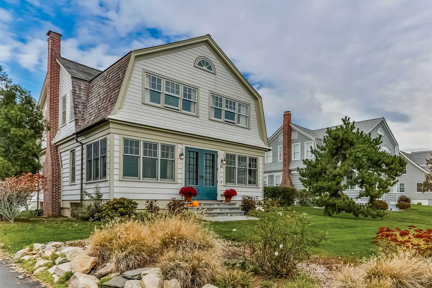 <b>Branford, Connecticut</b> <br/><i>4 Bedrooms, 2,512 sq. ft.</i> <br/>Colonial waterfront home with views of Long Island Sound