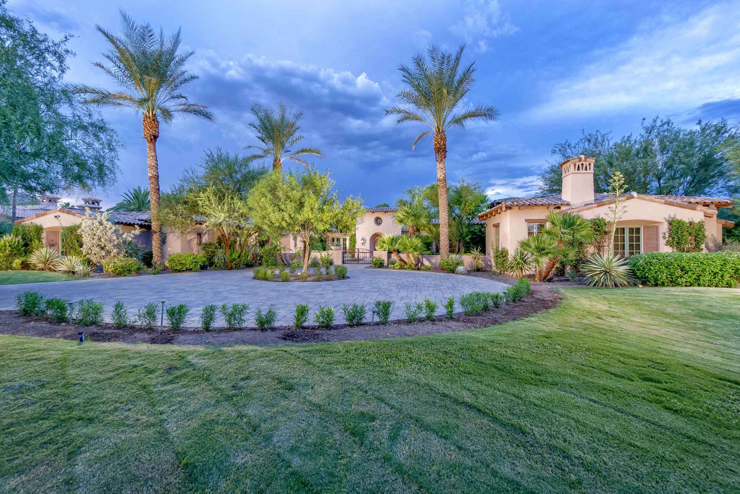This elegant Pueblo-style residence was the former estate of one of Scottsdale's first families.