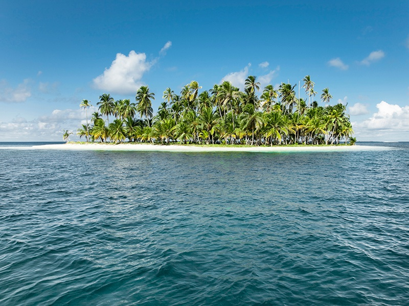 Private islands in Belize and Canada are ideal for those just dipping their feet into the market. Photograph: Getty Images