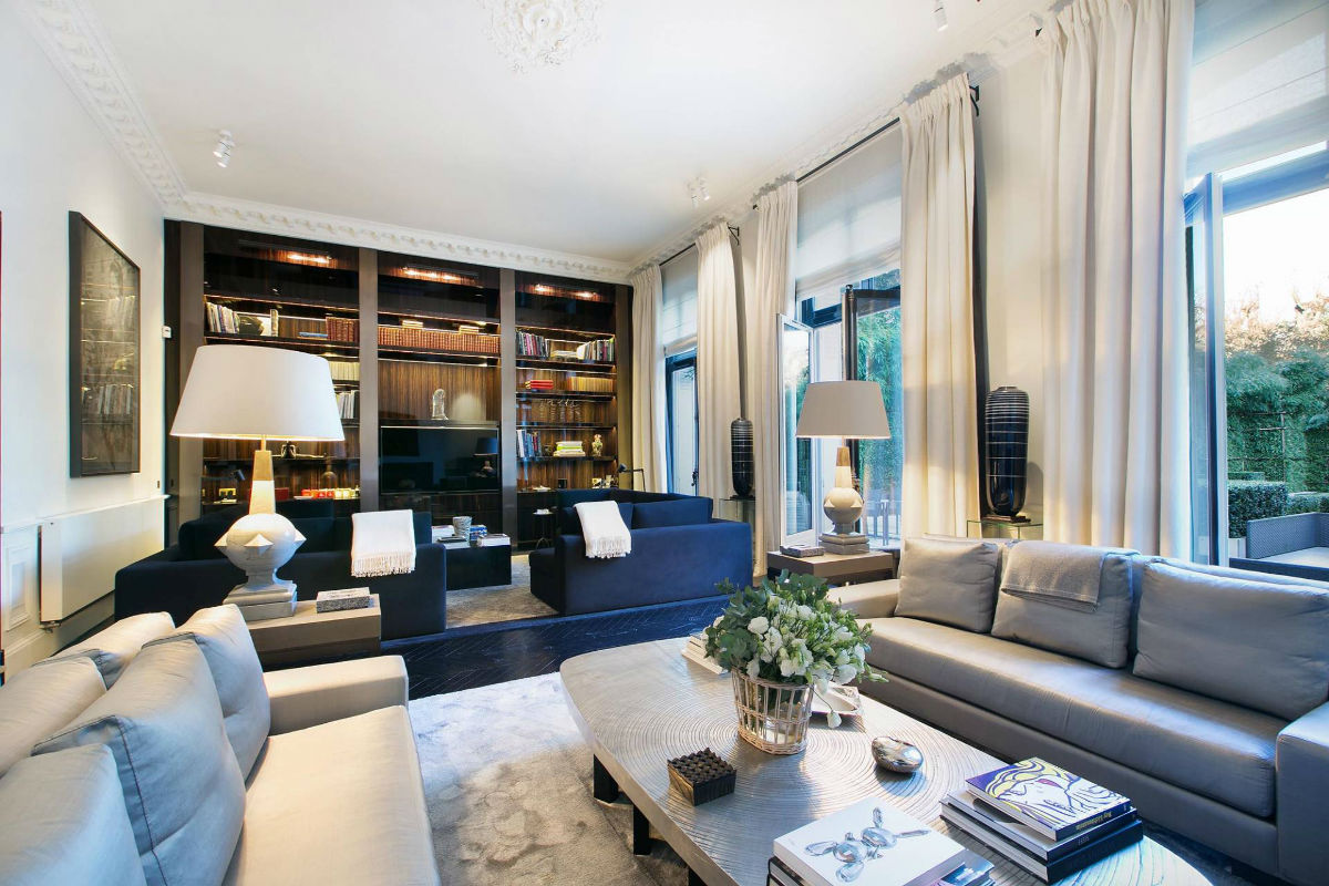 Originally built in the late 19th century, this grand Parisian mansion is accoutered for the 21st century; the stylish upgrades include a Turkish hammam, fitness center, and full-floor master suite with bespoke dressing room.