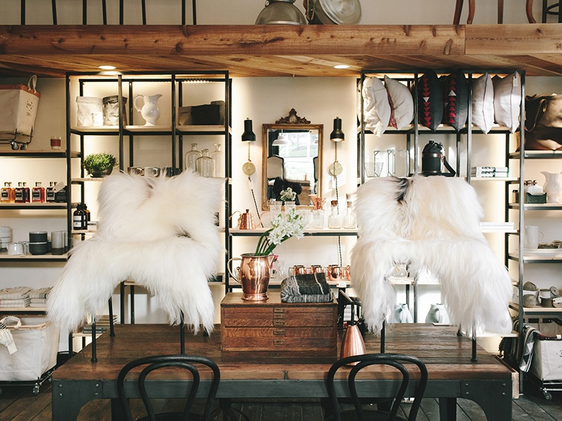 Pigeonhole in Rockland, run by owner Carey Salvador, is a treasure trove of carefully curated vintage furniture, homeware, and lighting.