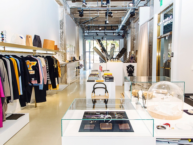 Parisian art lovers Nicolas Libert and Emmanuel Renoird curate the store as if contains their own personal collection. Photograph: Brinson Bank, courtesy Please Do Not Enter