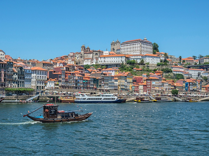 """Porto, the """"Cidade Invicta"""" (unvanquished city), has all the charm of a riverside town, coupled with the architectural, gastronomic, and cultural highlights of a historic city. Photograph: Getty Images"""