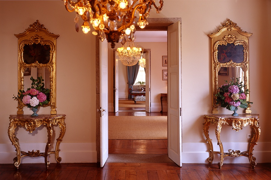 This historic property, once part of an 11th-century convent, is filled with 17th- and 18th-century fixtures and furniture.