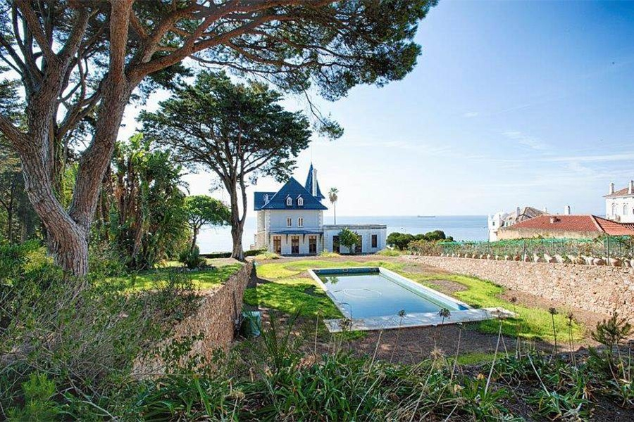 The royal roots of Cascais are on full display at Rainha Maria Pia de Sabóia, a 15-bedroom seaside villa built in the 19th century as a summer residence for royalty.