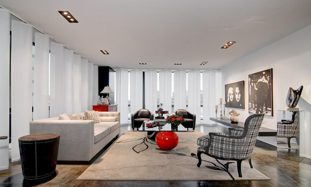 <b>Quebec, Canada</b><br/><i>2 Bedrooms, 1,605 sq. ft.</i><br/>Elegant renovated condo in Westmount Square