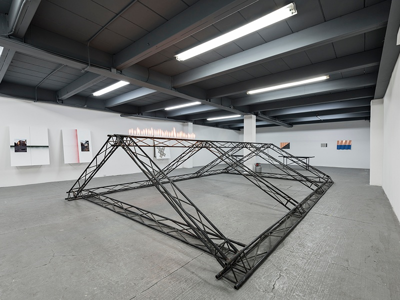 Andreas Fogarasi's 2016 installation at Mexico City's artist-run Proyectos Monclova, which was created to encourage dialogue between Mexican and international artists from different generations. Photograph: Patrick López Jaimes