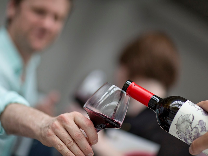 RAW WINE is a celebration of some of the best natural, organic, and biodynamic wines in the world. Photograph: Tom Moggach
