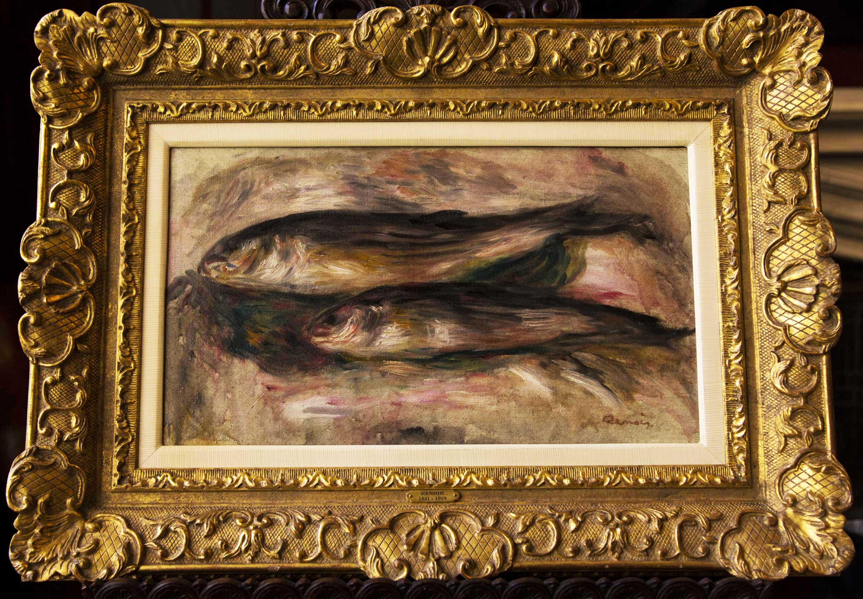 <em>Nature Morte Aux Poissons</em><br/>Pierre-Auguste Renoir (1841–1919)