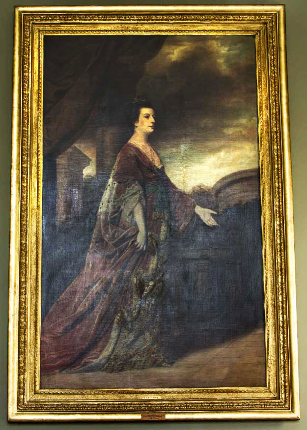 Conlon's first acquisition, the Muse inspiring his collecting<br/><em>Portrait of Anna Maria Draycott, Countess of Pomfret</em><br/>Joshua Reynolds (1723–1792)<br/>