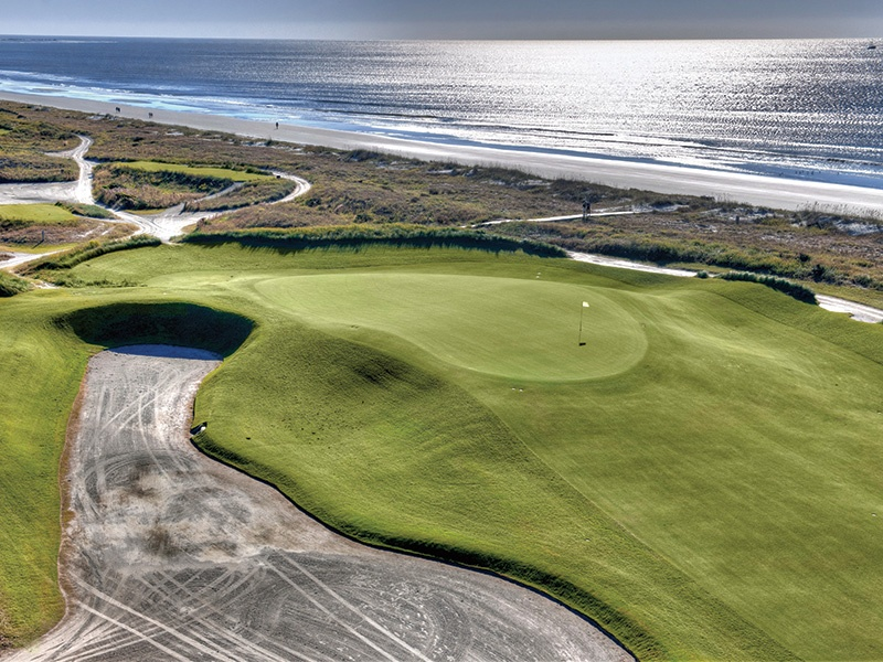 With a total of 90 holes designed by some of the golfing world's greatest names, Kiawah Island Golf Resort was designed so the natural environment plays into the difficulty of the course. The Ocean Course, which is one of the most challenging in the US thanks to its strong winds, will host the 2021 PGA Championship.