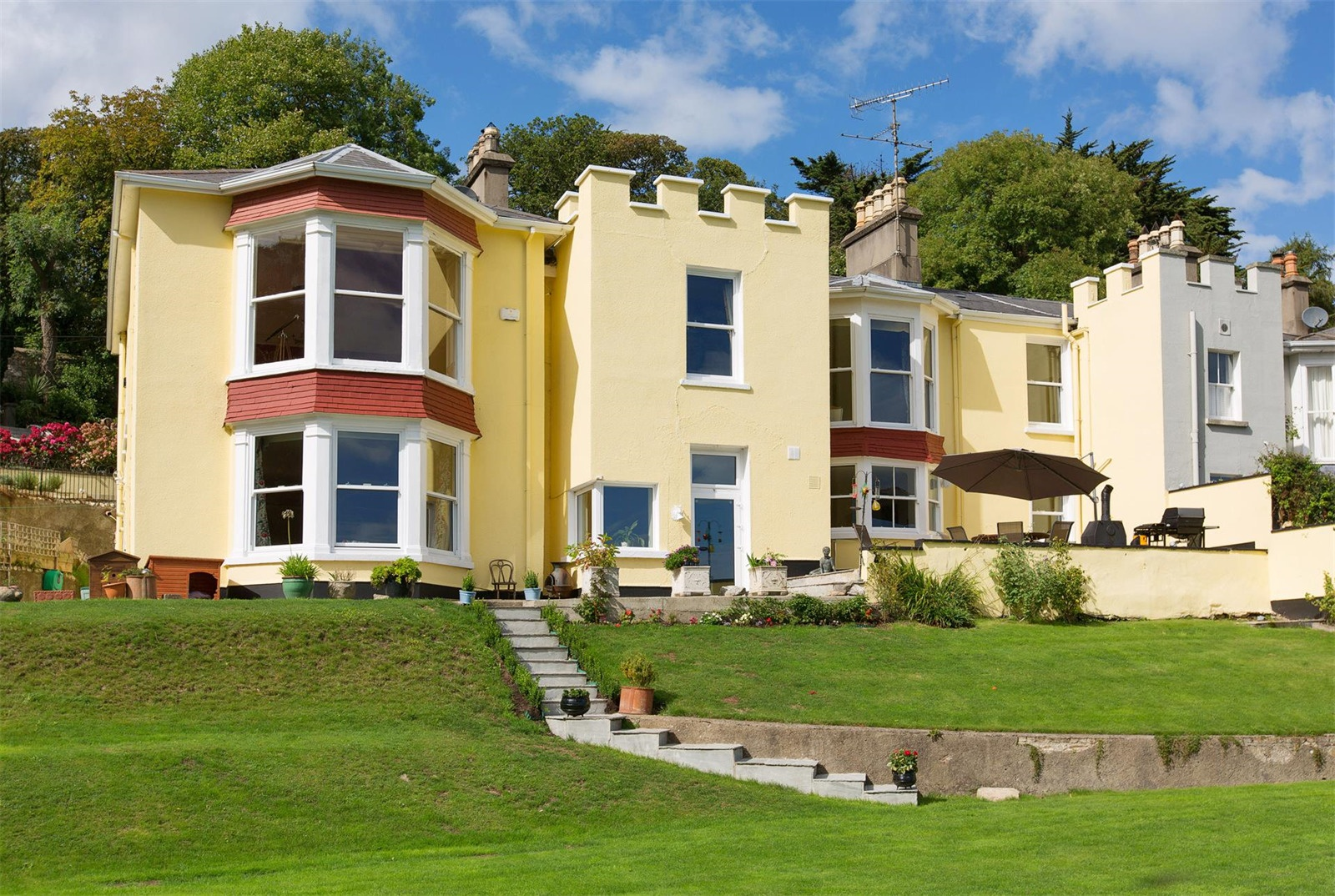 Overlooking Killiney Bay, Saintbury House was the childhood home of silver screen legend Maureen O'Sullivan.