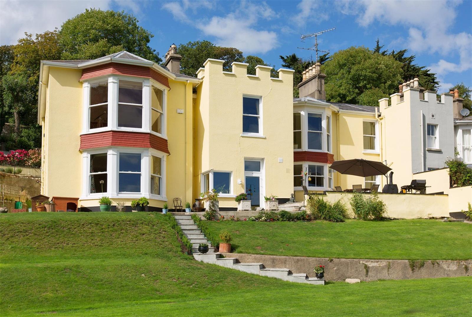 Overlooking Killiney Bay, Saintbury House was the childhood home of silver screen legend Maureen O'Sullivan.