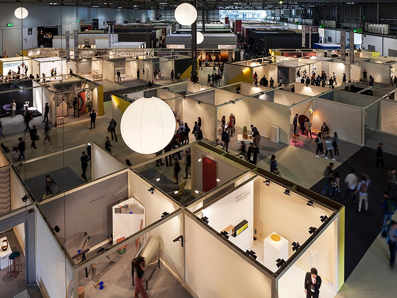 Salone del Mobile is split into three sections: Classic, Design, and xLux. Some2,000exhibitors from Italy and around the world typically attend the festival each year. Photograph: Andrea Mariani, courtesy Salone del Mobile.Milano