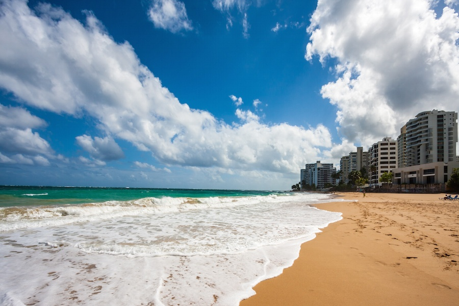 Puerto Rico's beaches offer clear Caribbean waters and a warm, welcoming atmosphere.