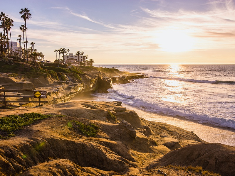 """La Jolla is nicknamed """"the jewel of San Diego"""" thanks in part to its captivating beach. Photograph: iStock"""