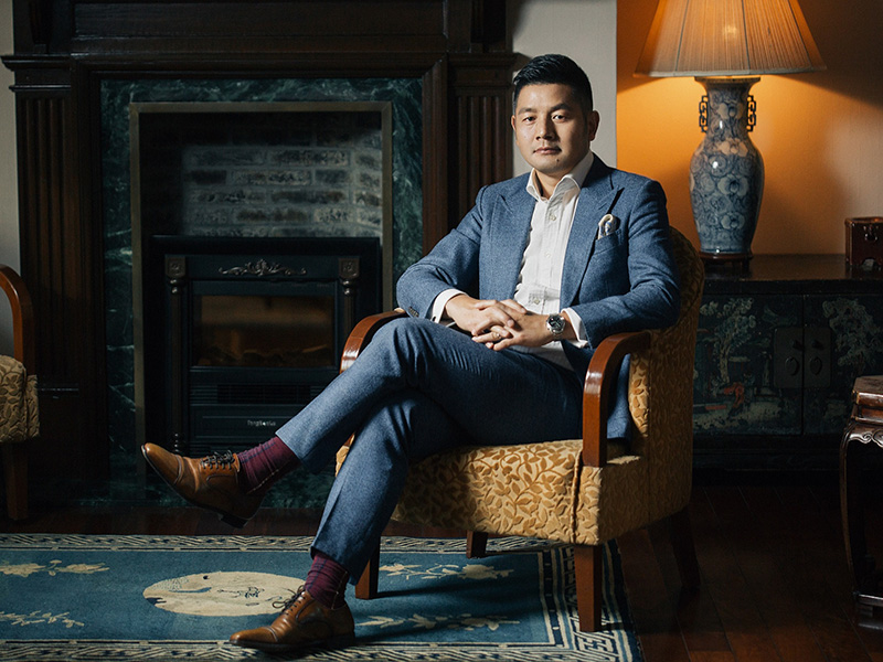Andy Zhang, general manager of the Taipingqiao Project and organiser of the Design Shanghai @ Xintiandi Festival. Banner image: traditional Shikumen architecture in Xintiandi. Photograph: Getty Images