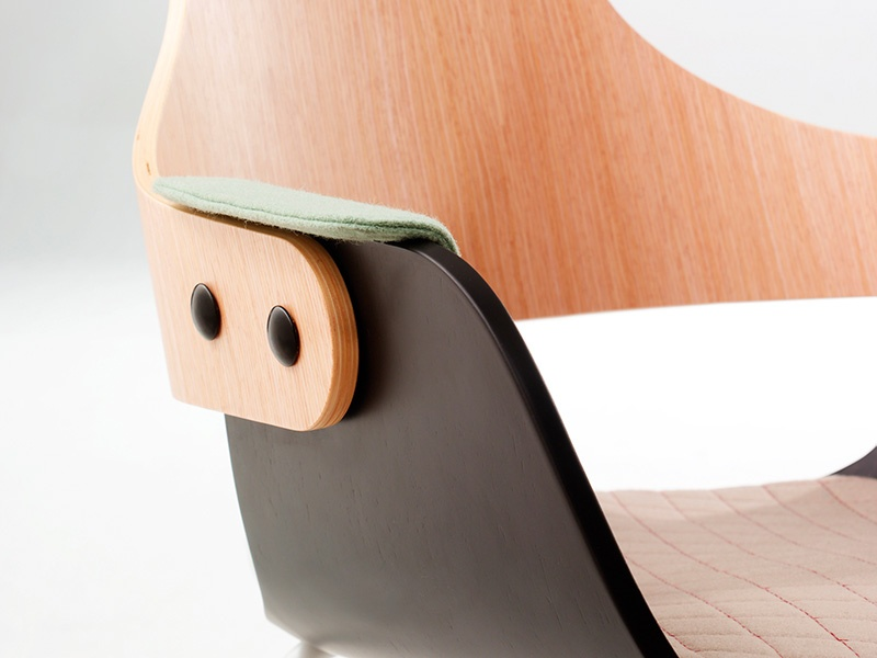 Showtime chair, for BD Barcelona Design. Photograph: Hayon Studio