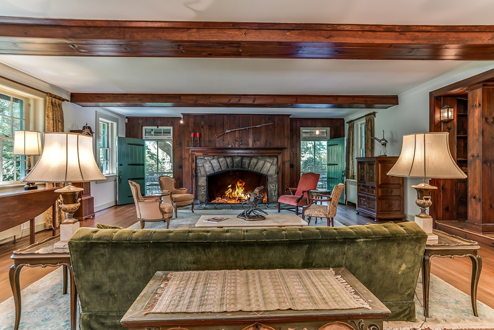 Greylogs Estate is a historic woodland retreat adorned with antique finishes and inviting fireplaces.