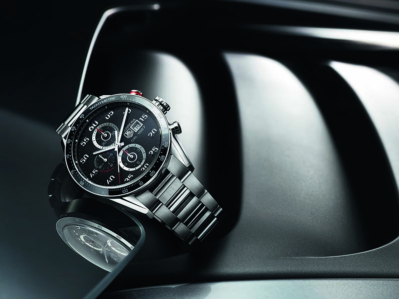 Classic yet contemporary, and inspired by car racing, the Tag Heuer Carrera watch has been meticulously tested to ensure its longevity and durability.