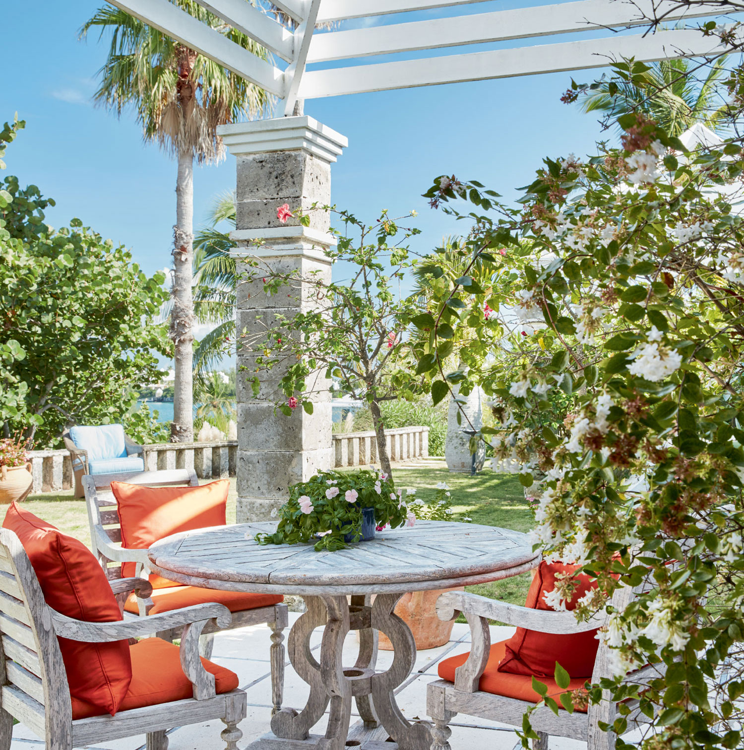 Peppered with patios, terraces, and private nooks, the grounds have been designed for the enjoyment of Bermuda's outdoor lifestyle.