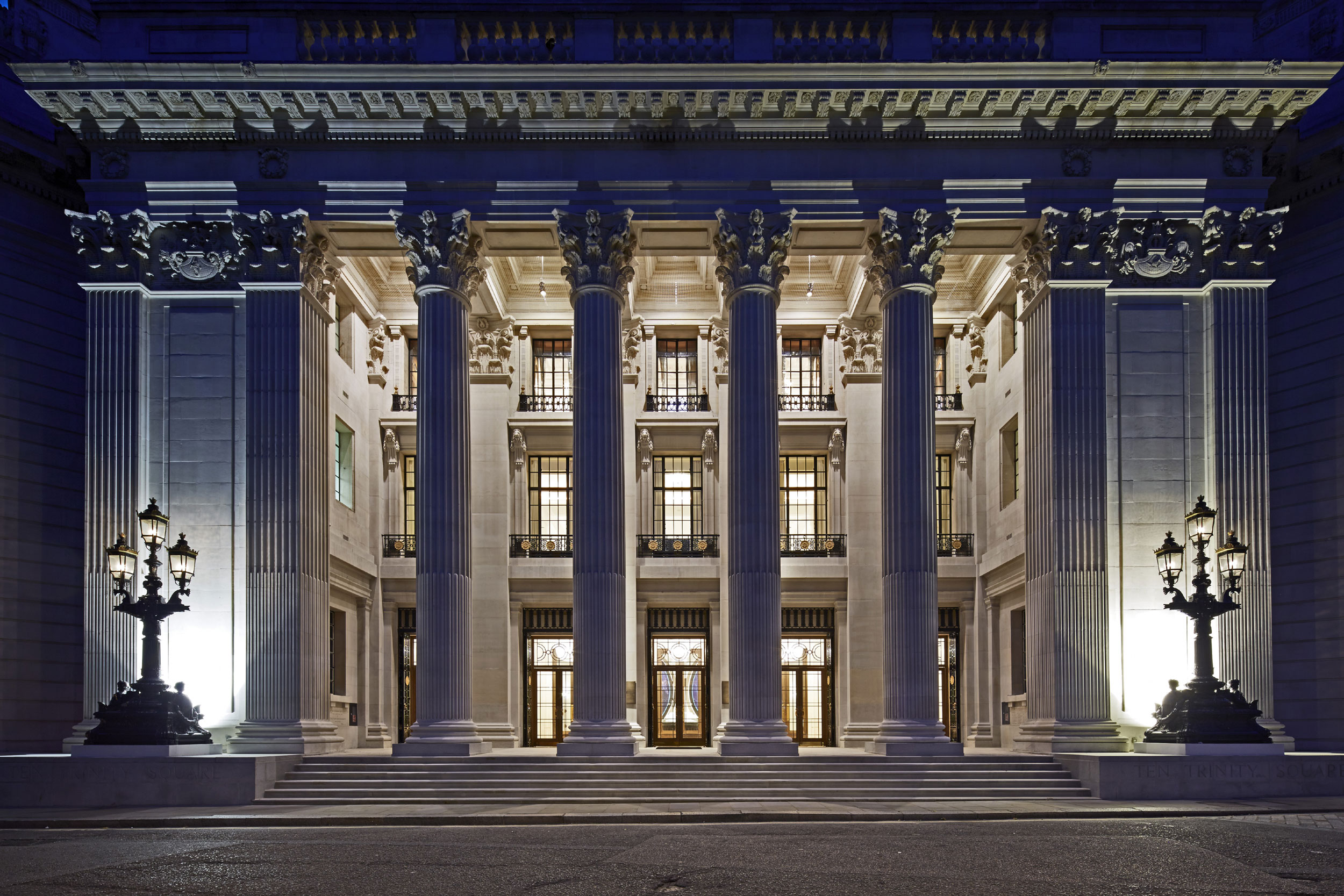 Under the expert development of Reignwood Group, London's iconic Ten Trinity Square has been recreated as an exclusive and harmonious arrangement of 41 residences, a 100-room hotel, and a private members club.