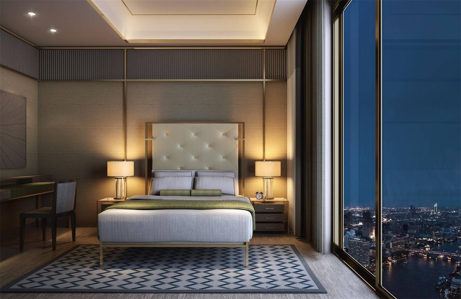 Situated on the Chao Phraya River, this urban retreat at The Residences at Mandarin Oriental, Bangkok, has unparalleled views of the Thai capital.