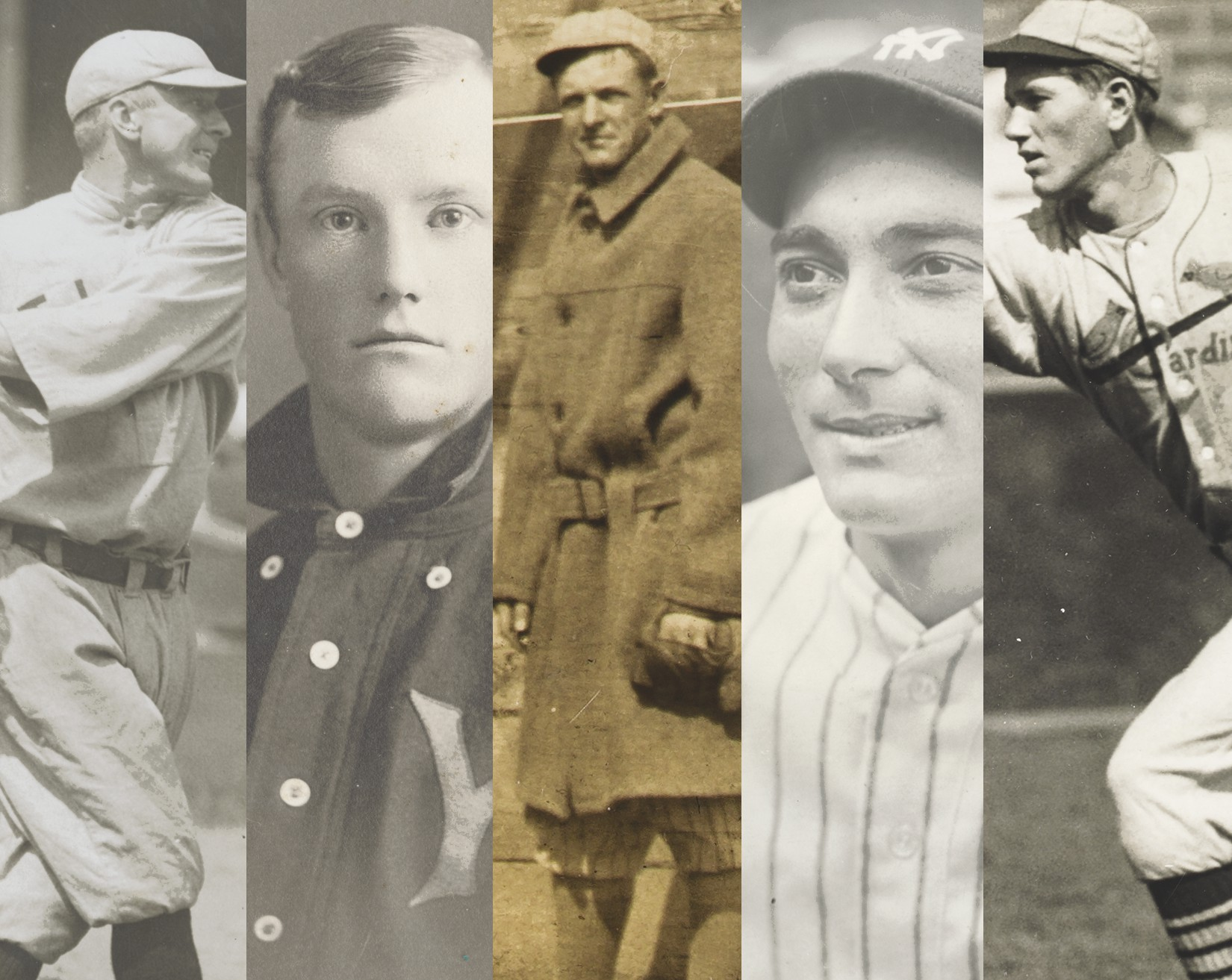 Christie's online auction of The Golden Age of Baseball provides a keyhole look into the various categories of baseball memorabilia and photographs.