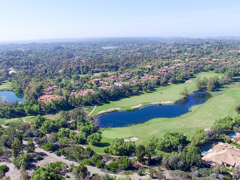 An 18-hole, par-71 course, The Bridges at Rancho Santa Fe is a private, members-only club that has hosted ABC Sports' famous Battle of the Bridges season.