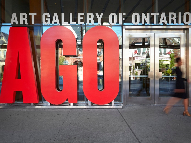 As well as a vast number of contemporary works, the AGO has an outstanding collection of historical Canadian art.