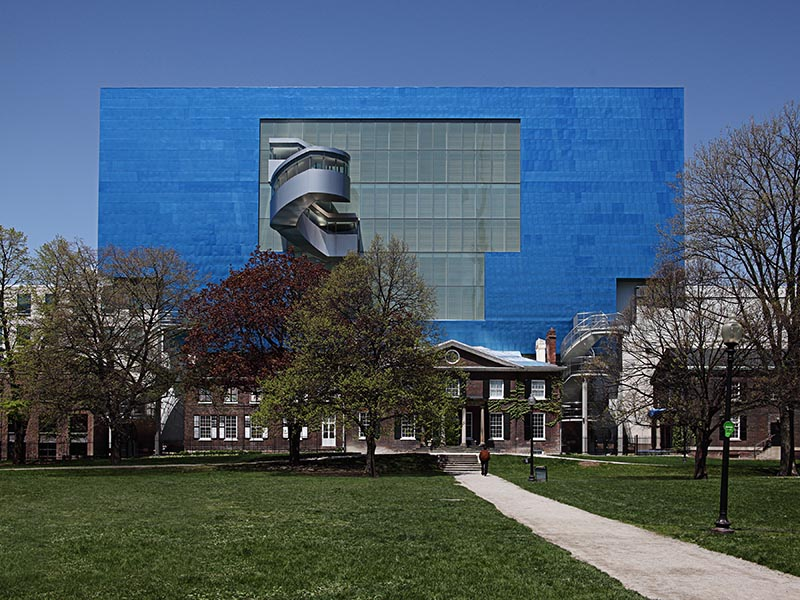 """The 2015 renovation of the AGO was Frank Gehry's first commission in the city where he was born. His design balances exuberance with """"delicious moments of restraint,"""" according to <i>The New York Times</i>."""