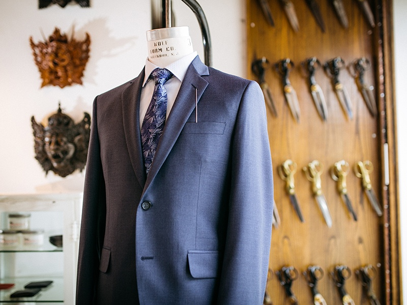 Sydney's on Toronto's Queen Street marries Savile Row-style tailoring with sharp retro looks inspired by cult TV series <i>Mad Men</i> and the Edwardian era.