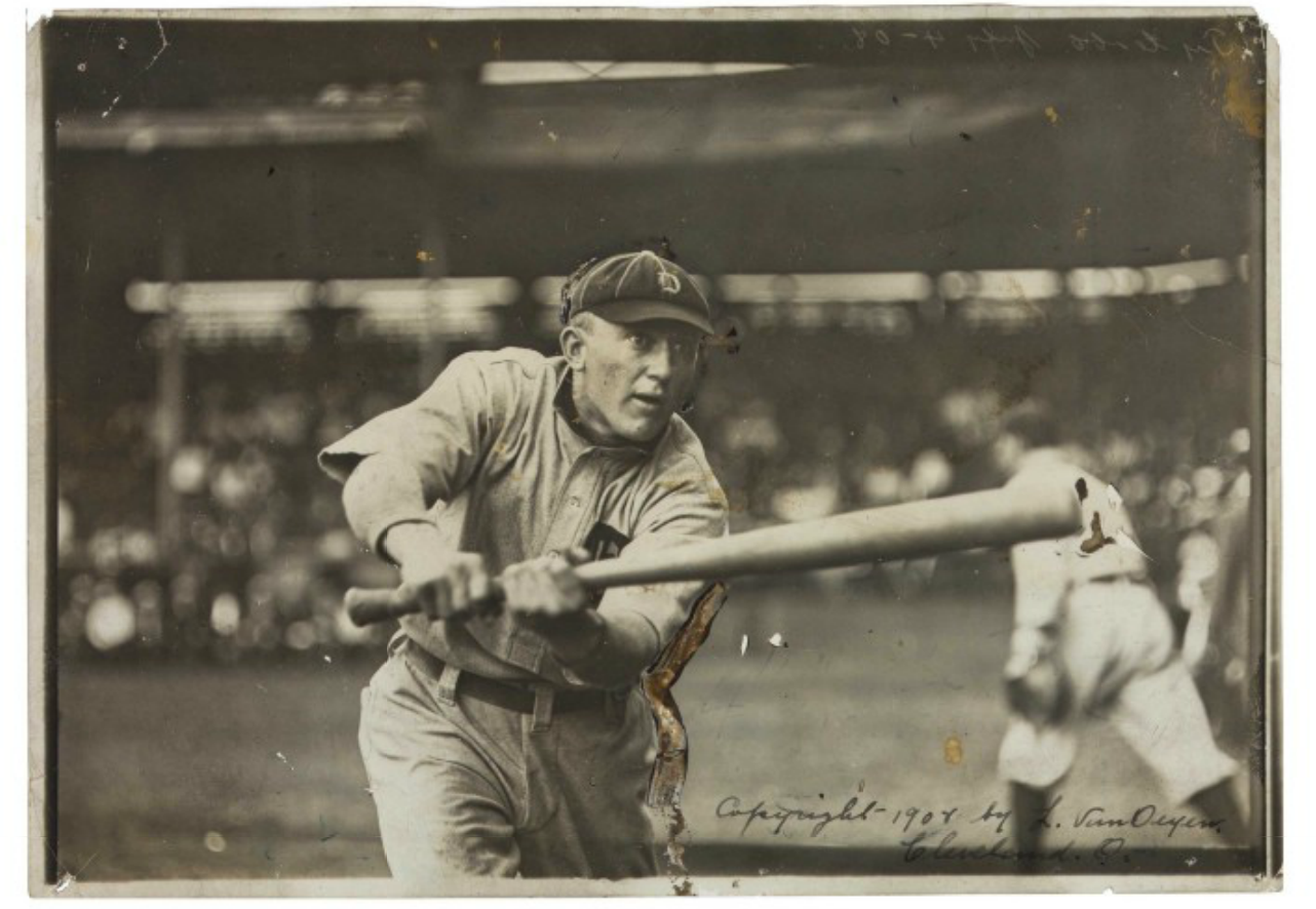 This photo of Cobb (Estimate: USD 10,000 – 15,000) is signed and copyrighted by the photographer.