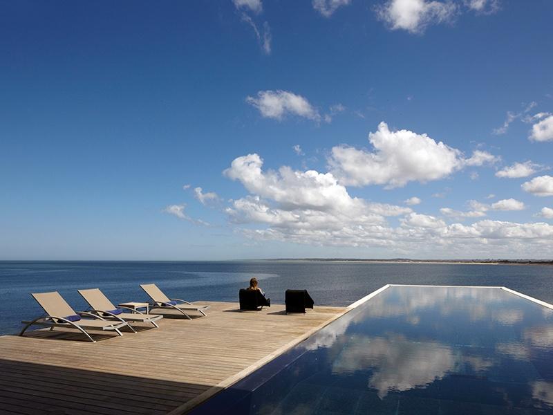 Playa Vik José Ignacio has a coveted position on the coastline, with stunning vistas of the southern Atlantic Ocean and Playa Mansa.